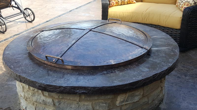 metal fire pit cover. Bronze-fire-pit-cover200x113.jpg Metal Fire Pit Cover