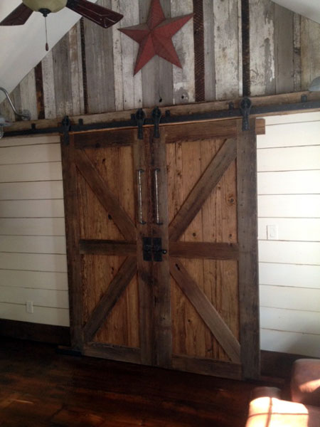 forged antique barn door tracks : barn door track - pezcame.com
