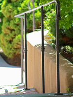 Ponderosa Forge wrought iron railing