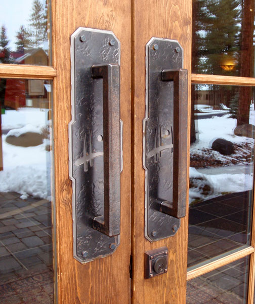 Hand Forged Door Handles Sunriver Iron